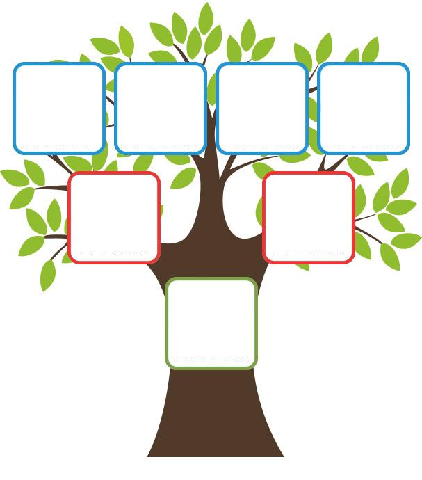 Ton arbre g n alogique - Arbre genealogique dessin ...
