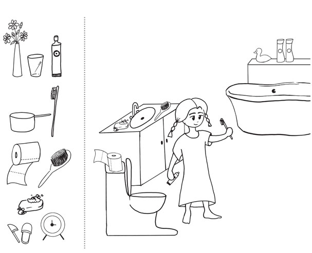 Quels objets sont dans la salle de bain - Objet de salle de bain ...