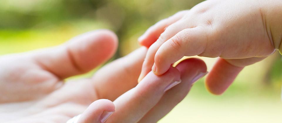 Le développement du toucher chez l'enfant