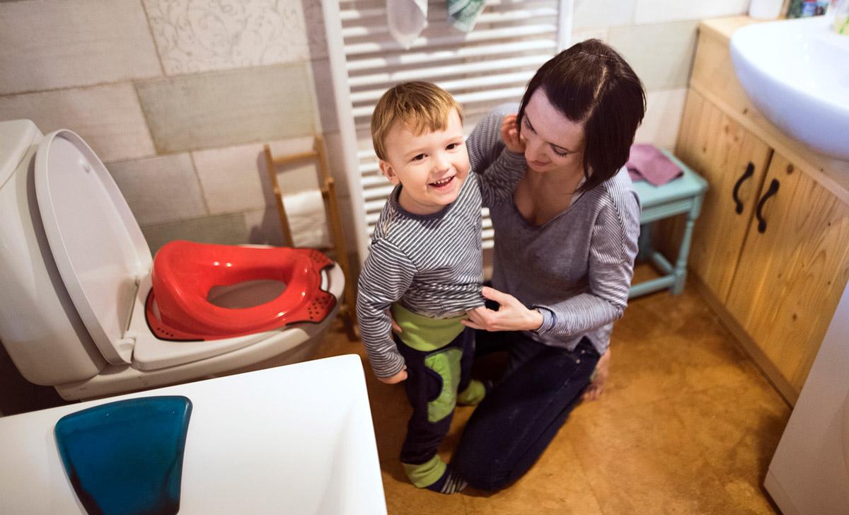 Initier Bébé Au Pot la propreté: ne rien faire?