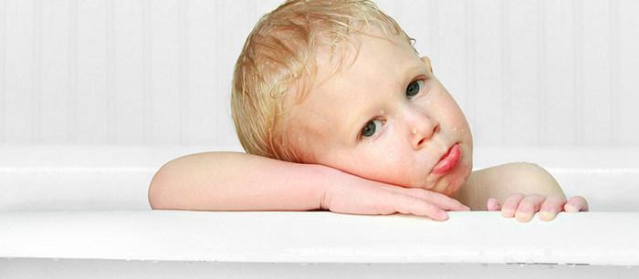 L Enfant Qui Refuse De Prendre Son Bain