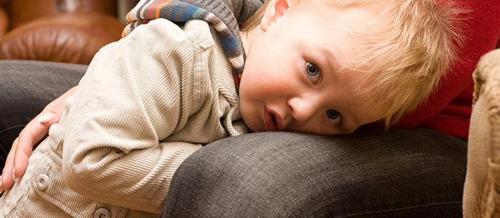 L'enfant timide