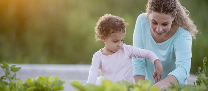 Jardiner avec son enfant - Cuisiner avec son enfant ...