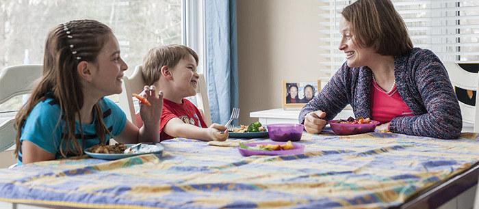 Langage: parler à table