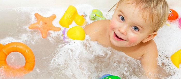 Les soins de base for Photo dans un bain