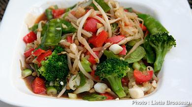Sauté de légumes