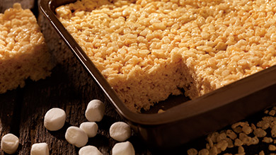 Barres de riz soufflé