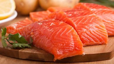 Truite saumonée à l'érable