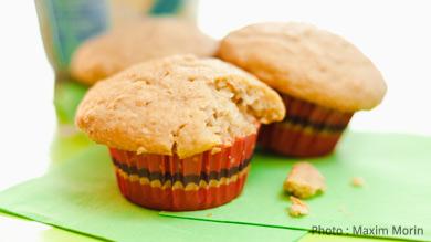 Muffins aux céréales pour bébé