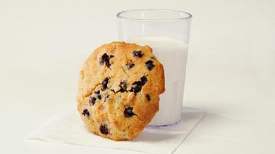 Biscuits aux pépites de Schtroumpf
