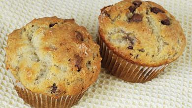 Muffins choco-poire