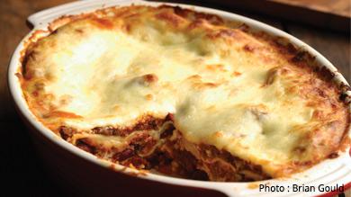 Lasagne aux haricots