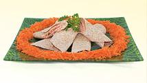 Tortillas à la garniture rosée au thon