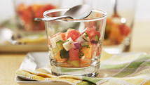 Salade de melons et féta