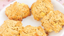 Biscuits tendres aux pommes