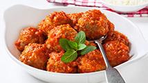 Boulettes à la sauce tomate