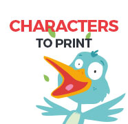 Characters to print